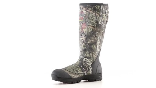 Guide Gear Men's Ankle Fit Insulated Rubber Boots 800 Gram 360 View - image 1 from the video