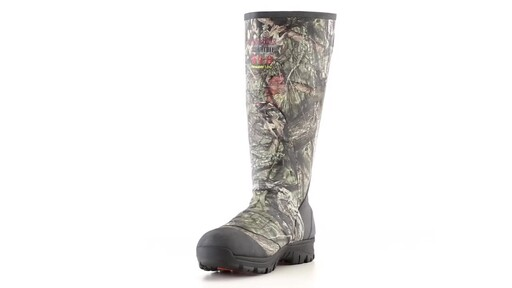 Guide Gear Men's Ankle Fit Insulated Rubber Boots 800 Gram 360 View - image 2 from the video