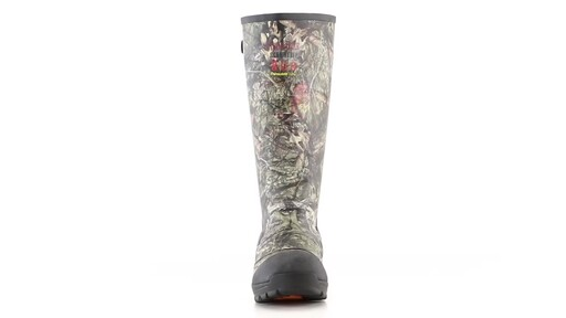 Guide Gear Men's Ankle Fit Insulated Rubber Boots 800 Gram 360 View - image 3 from the video