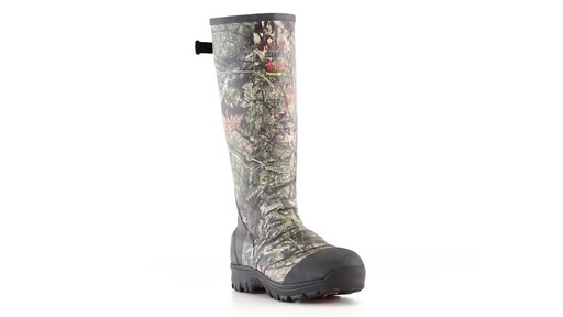 Guide Gear Men's Ankle Fit Insulated Rubber Boots 800 Gram 360 View - image 4 from the video