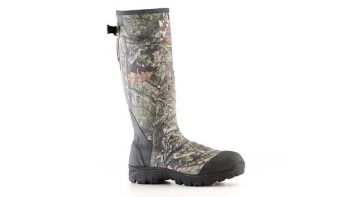 Guide Gear Men's Ankle Fit Insulated Rubber Boots 800 Gram 360 View - image 5 from the video