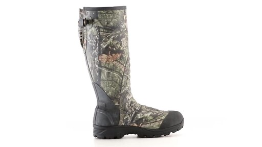 Guide Gear Men's Ankle Fit Insulated Rubber Boots 800 Gram 360 View - image 6 from the video