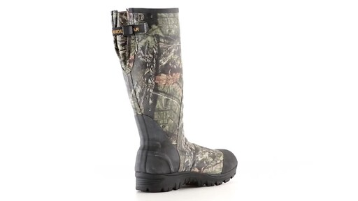 Guide Gear Men's Ankle Fit Insulated Rubber Boots 800 Gram 360 View - image 7 from the video