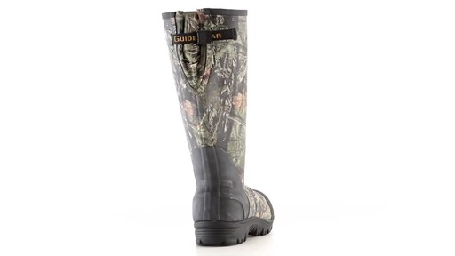 Guide Gear Men's Ankle Fit Insulated Rubber Boots 800 Gram 360 View - image 8 from the video
