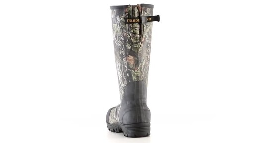 Guide Gear Men's Ankle Fit Insulated Rubber Boots 800 Gram 360 View - image 9 from the video