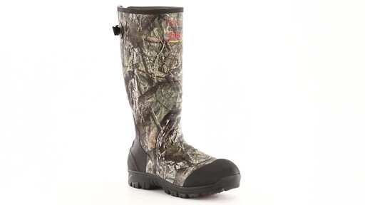Guide Gear Men's Ankle Fit Insulated Rubber Boots 2400 grams 360 View - image 4 from the video