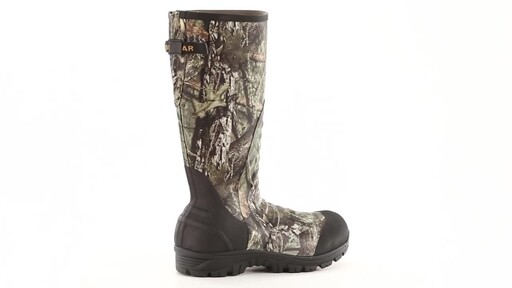 Guide Gear Men's Ankle Fit Insulated Rubber Boots 2400 grams 360 View - image 6 from the video
