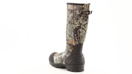 Guide Gear Men's Ankle Fit Insulated Rubber Boots 2400 grams 360 View - image 9 from the video