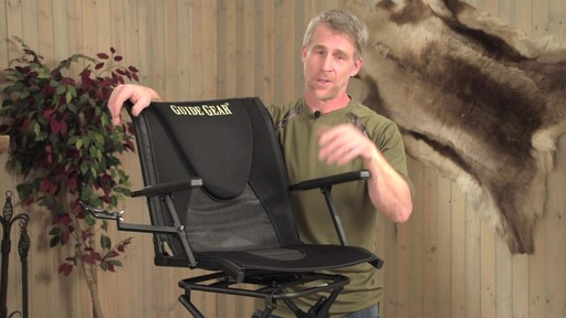 Guide Gear Comfort Swivel Blind Chair - image 10 from the video