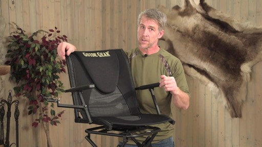 Guide Gear Comfort Swivel Blind Chair - image 6 from the video