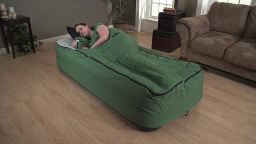 Guide Gear Twin Air Bed Fitted Cover Sleeping Bag Green