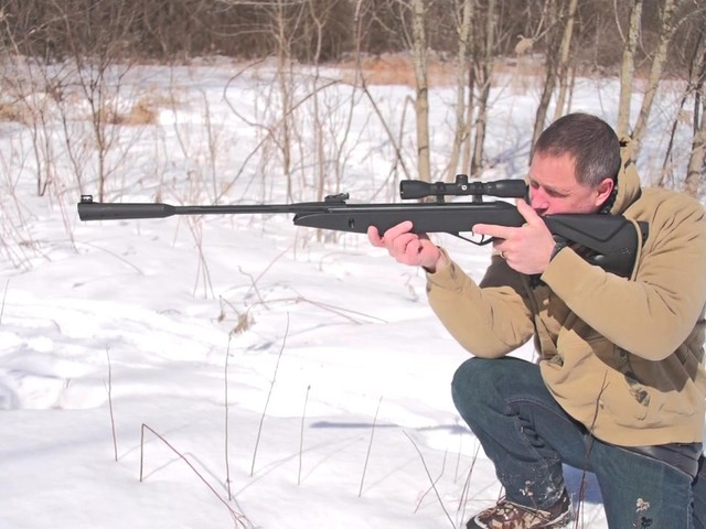 Gamo® Silent Cat® .177 cal. Air Rifle with 4x32mm Scope (Reconditioned) - image 3 from the video