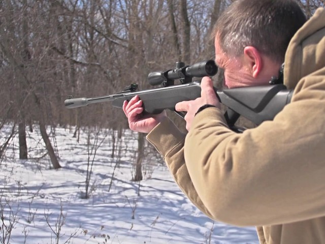 Gamo® Silent Cat® .177 cal. Air Rifle with 4x32mm Scope (Reconditioned) - image 5 from the video