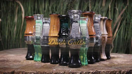 Zink ATM Green Machine Double Reed Polycarbonate Duck Call Gun Smoke - image 2 from the video