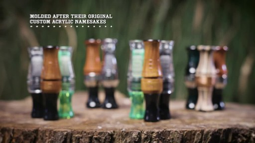 Zink ATM Green Machine Double Reed Polycarbonate Duck Call Gun Smoke - image 4 from the video