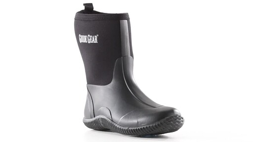 Guide Gear Women's Mid Bogger Rubber Boots 360 View - image 3 from the video