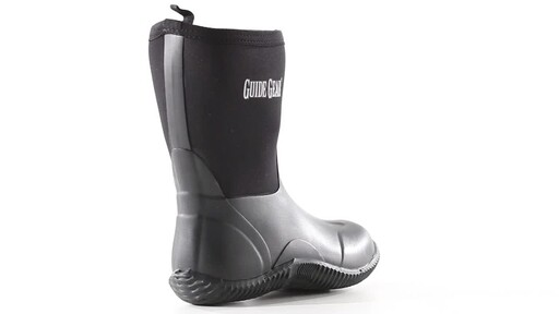 Guide Gear Women's Mid Bogger Rubber Boots 360 View - image 5 from the video