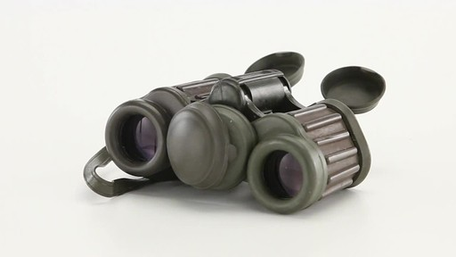 Used Hensoldt / Zeiss 8x30 German Army Binoculars 360 View - image 10 from the video