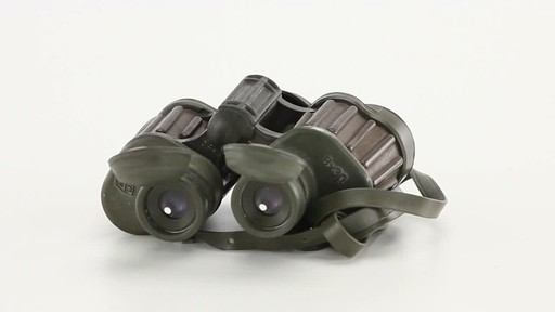 Used Hensoldt / Zeiss 8x30 German Army Binoculars 360 View - image 5 from the video