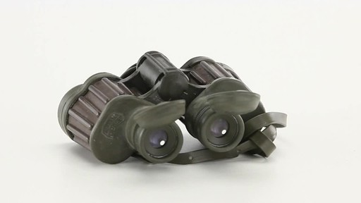 Used Hensoldt / Zeiss 8x30 German Army Binoculars 360 View - image 6 from the video