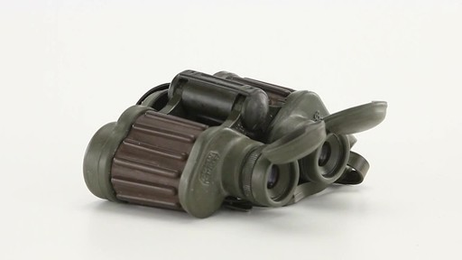 Used Hensoldt / Zeiss 8x30 German Army Binoculars 360 View - image 7 from the video