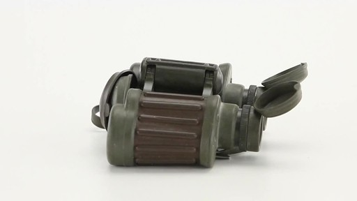 Used Hensoldt / Zeiss 8x30 German Army Binoculars 360 View - image 8 from the video