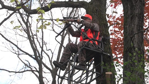 Guide Gear 18' Jumbo Ladder Tree Stand - image 2 from the video