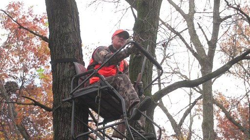 Guide Gear 18' Jumbo Ladder Tree Stand - image 5 from the video
