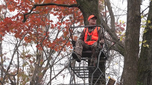 Guide Gear 18' Jumbo Ladder Tree Stand - image 9 from the video