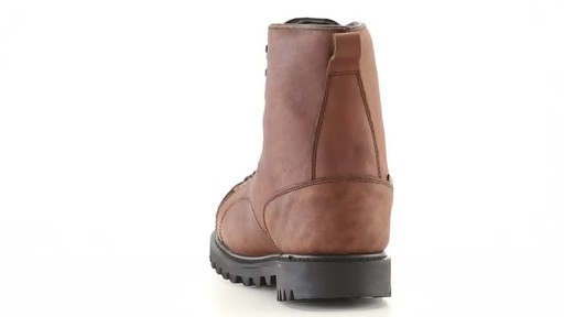 Guide Gear Men's Waterproof Insulated Leather Lace-To-Toe Hunting Boots 400 Grams 360 View - image 7 from the video