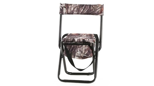 Allen High-back Blind Chair 360 View - image 1 from the video