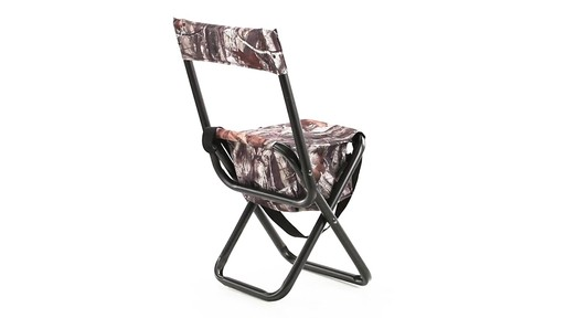 Allen High-back Blind Chair 360 View - image 5 from the video