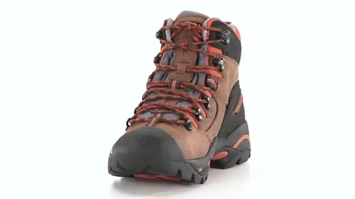 KEEN Utility Men's Pittsburgh Waterproof Soft Toe Work Boots 360 View - image 2 from the video