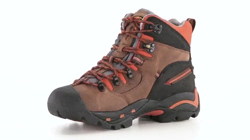 KEEN Utility Men's Pittsburgh Waterproof Soft Toe Work Boots 360 View - image 3 from the video