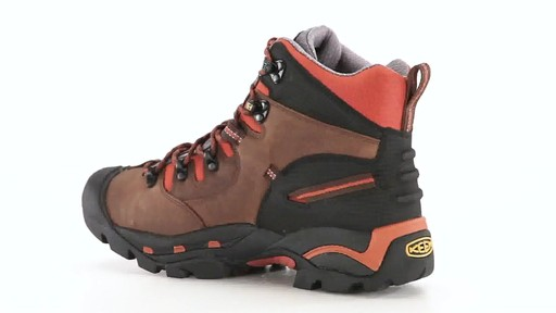 KEEN Utility Men's Pittsburgh Waterproof Soft Toe Work Boots 360 View - image 5 from the video