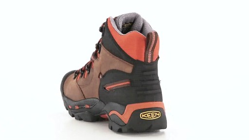 KEEN Utility Men's Pittsburgh Waterproof Soft Toe Work Boots 360 View - image 6 from the video