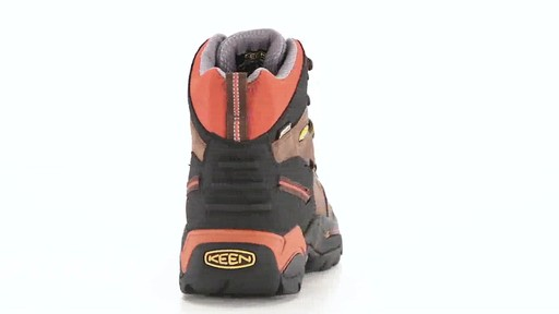 KEEN Utility Men's Pittsburgh Waterproof Soft Toe Work Boots 360 View - image 7 from the video