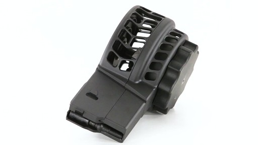 X-Products X-25-S AR-10 .308 Winchester Skeletonized Drum Magazine 50 Rounds 360 View - image 3 from the video