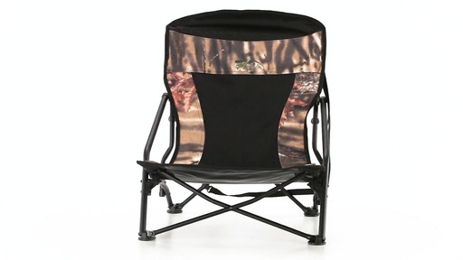 HuntRite Long Beard Lounger Seat 300 lb. Capacity 360 View - image 1 from the video