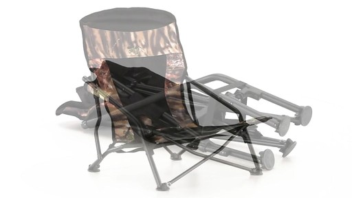 HuntRite Long Beard Lounger Seat 300 lb. Capacity 360 View - image 7 from the video