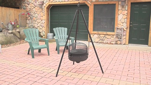 Guide Gear Heavy-duty Campfire Tripod System - image 1 from the video