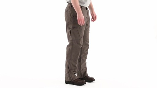 Guide Gear Men's Quilt-lined Canvas Work Pants 360 View - image 2 from the video