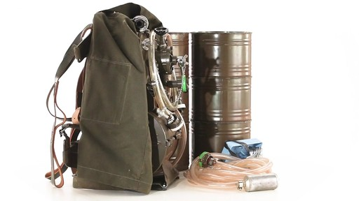 Swiss Military Surplus Portable Water Filtration System New 360 View - image 5 from the video
