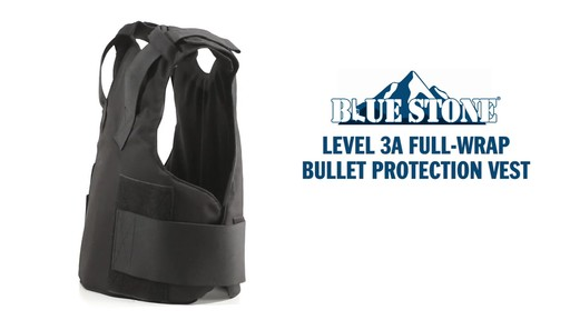 Blue Stone Level 3A Professional Full-Wrap Bullet Protection Vest - image 2 from the video