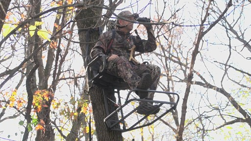 Guide Gear Deluxe Hunting Hang-on Tree Stand - image 1 from the video