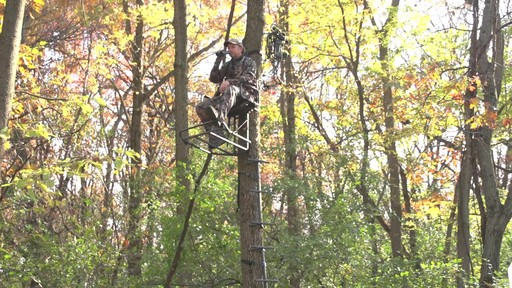 Guide Gear Deluxe Hunting Hang-on Tree Stand - image 2 from the video