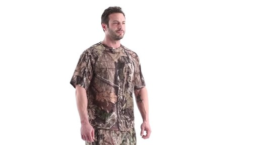 Guide Gear Men's Performance Hunting Short-Sleeve Shirt 360 View - image 1 from the video