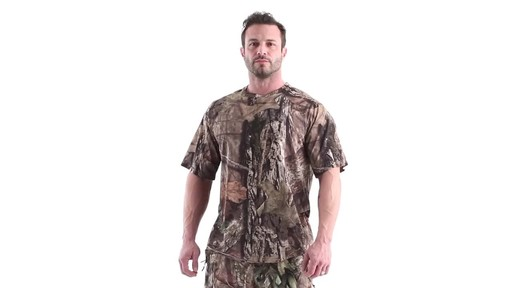 Guide Gear Men's Performance Hunting Short-Sleeve Shirt 360 View - image 10 from the video
