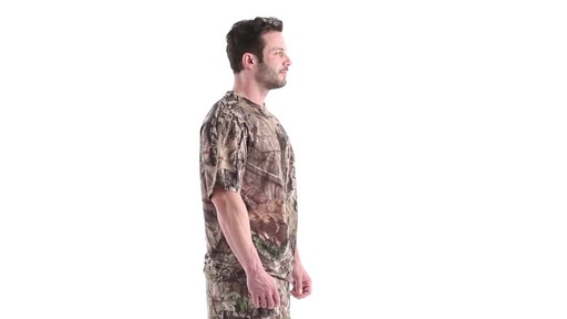 Guide Gear Men's Performance Hunting Short-Sleeve Shirt 360 View - image 2 from the video