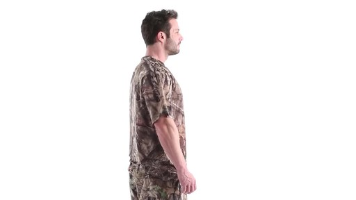 Guide Gear Men's Performance Hunting Short-Sleeve Shirt 360 View - image 3 from the video